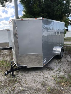Enclosed trailer 6x12SA advanced series @ Brothers Trailers for Sale in Tampa, FL
