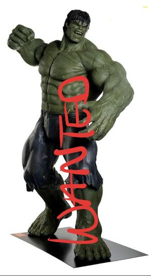 LIFE SIZE STATUE HULK for Sale in Los Angeles, CA