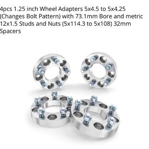 Wheel Adapters for Sale in Washington, DC