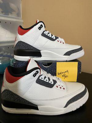 Air Jordan 3 Fire Denim SE 7.5 for Sale in Los Angeles, CA