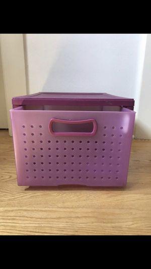 One Rigid Plastic Purple Drawer. Pick up in Pasadena! for Sale in Altadena, CA