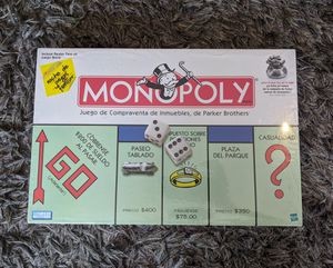 Monopoly in Spanish Brand New Factory Sealed for Sale in Bell Gardens, CA