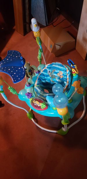 Disney Baby Finding Nemo Sea of Activities Jumper for Sale in Blackstone, MA