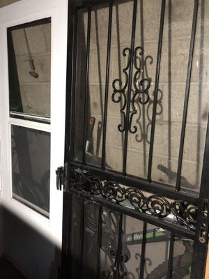 Storm door and Security gate for Sale in Monroeville, PA