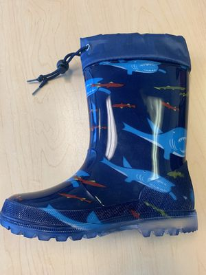Rain boots for kids boys 11,12,13,1,2,3,4 for Sale in South Gate, CA