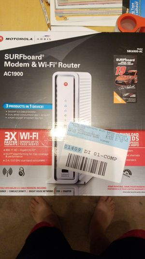 Arris SURFboard Modem & WiFi Router for Sale in Murrieta, CA