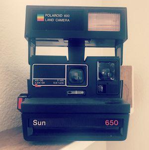 Vintage Polaroid Land Camera Sun 650 for Sale in Tustin, CA