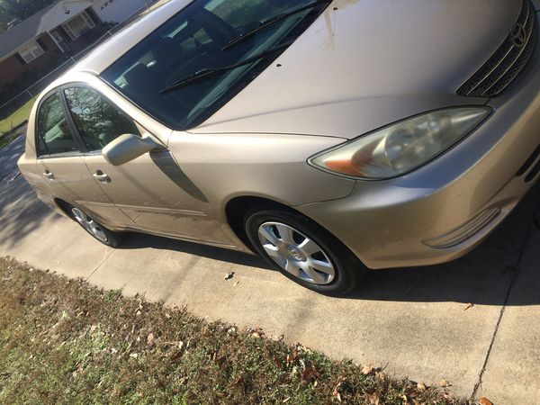 Toyota Camry 2002 Toyota Camry 187.000 miles