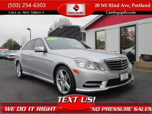 2013 Mercedes-Benz E-Class for Sale in Portland, OR