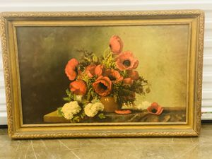 Nice picture of flowers and vase for Sale in Haltom City, TX
