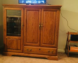 TV stand with drawer and storage for Sale in Sudley Springs, VA