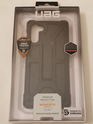 UAG - Monarch Series Case for Samsung Galaxy Note10 - Black for Sale in Hawthorne, CA