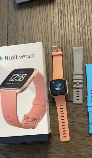 Fitbit versa with extras for Sale in Spring Hill, FL