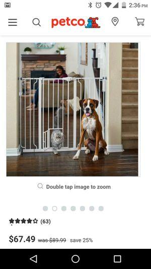 Baby gate with pet door for Sale in Morgantown, WV