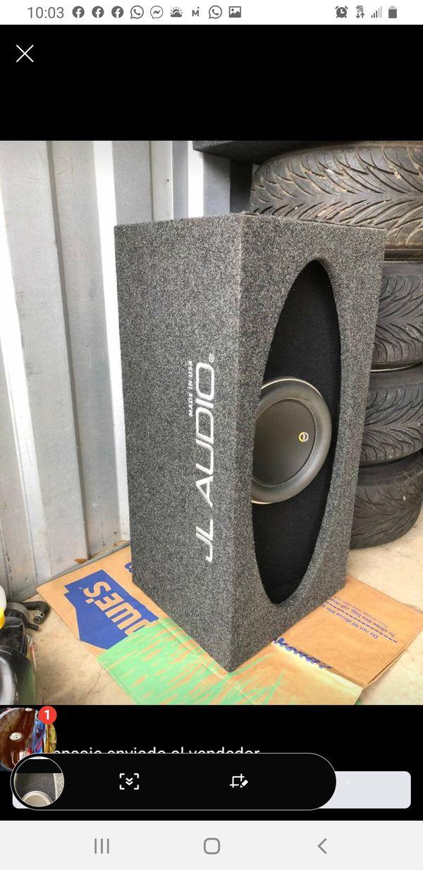 """w7 jl audio 10"""" aniversario edition 750rms 1500 pick en buenas condiciones"""