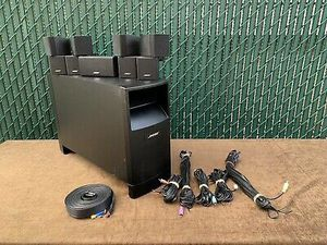 Bose Acoustimass 10 Series IV Speaker System w/ Subwoofer Working Condition for Sale in Pembroke Pines, FL