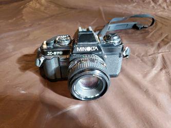 Minolta x-570 camera. 50mm lens. for Sale in Franklin,  MI