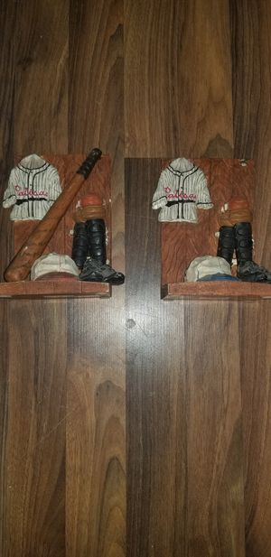 Russ Berrie & Co baseball bookends for Sale in Norco, CA