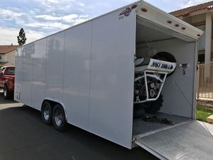 "2008 Progressive 24"" Enclosed Car Transport Trailer for Sale in Las Vegas, NV"