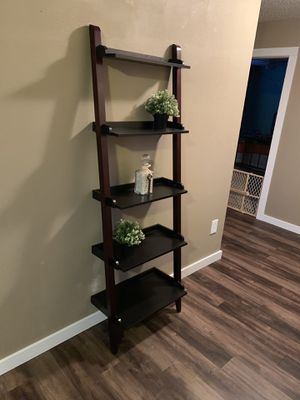 Leaning Ladder Shelf for Sale in Haslet, TX