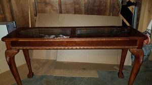 Long/tall elegant table for Sale in Eau Claire, WI
