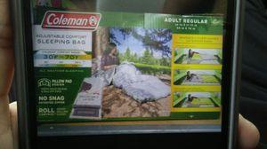 Coleman adjustable Comfort sleeping bag for Sale in Dearborn, MI