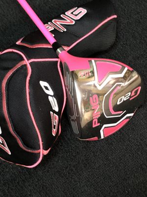 Ping Limited Edition G20 Bubba Watson Right Handed 10.5 Driver for Sale in Clyde, TX