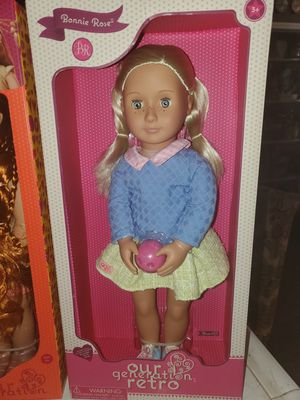 Our Generation Retro Collection Doll NEW for Sale in Plumas Lake, CA