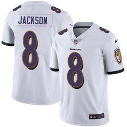 Limited Lamar Jackson Baltimore Ravens White Vapor Jersey for Sale in Walnut,  CA
