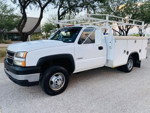2007 Chevrolet Silverado 3500 Dually Work Truck Utility Bed for Sale in Tempe, AZ