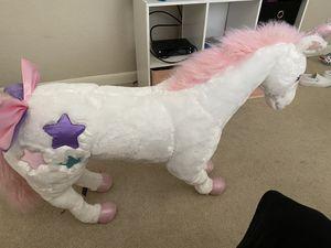Plush unicorn for Sale in San Antonio, TX