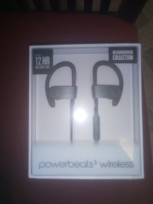 POWERBEATS WIRELESS 3 BEATS BY DR DRE for Sale in Washington, DC