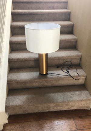 Gold colored lamp for Sale in Reedley, CA