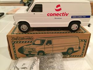 NEW ERTL 1980 COLLECTIBLE FORD DIE-CAST VAN CONECTIV K140 TOY for Sale in Perryville, MD