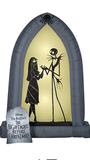 Nightmare Before Christmas Arch Inflatable for Sale in Santa Ana, CA
