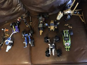 Lots of LEGO partial sets, all are authentic LEGOs, one owner, Ninjago for Sale in Abilene, TX