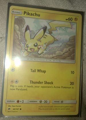 Pikachu Pokemon Card for Sale in Taylors, SC