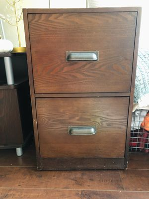 Wood Filing Cabinets with Wheels for Sale in Los Angeles, CA