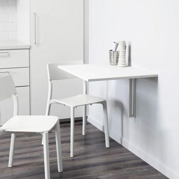IKEA Norberg wall-mounted table