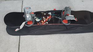 Ride snowboard havoc series 156 centimeters with size 10 snow boots for Sale in Menlo Park, CA