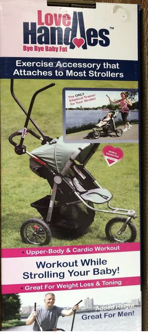 Portable Upper Body Exerciser to use with Stroller. Love Handles RX 10- 0705 for Sale in Kansas City, MO