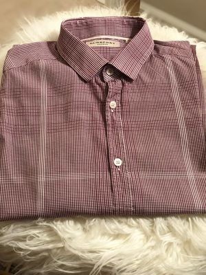 Men's Button Down Burberry Shirt for Sale in Wheeling, IL