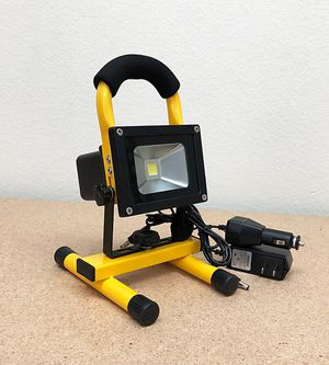 New $25 each Cordless 10W Portable Work Light Rechargeable LED Flood Spot Camping Lamp (Red or Yellow) for Sale in South El Monte, CA