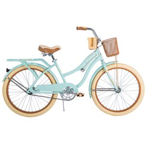 """Huffy 24"""" Nel Lusso Girls' Cruiser Bike, Mint Green for Sale in Castro Valley, CA"""