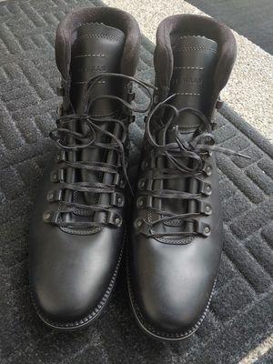 Cole Haan ZeroGrand Hi-Top Waterproof Men's Black Hiking work walking boots for Sale in Kent, WA