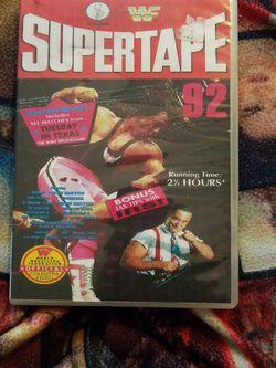 Wwf Supertape 92 Dvd for Sale in Chicago,  IL
