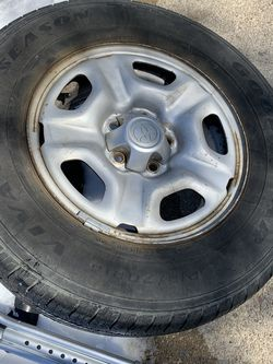 4 Wheels With Tire 215/70R15 TOYOTA &Tocama 2WD for Sale in Columbia,  MD