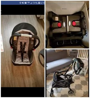 Graco Snug Ride Elite click connect car seat set for Sale in Wilmington, NC