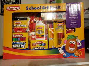 New playskool School Art Pack over 100 piece set for Sale in San Antonio, TX