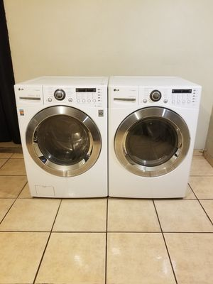 BEAUTIFUL FRONT LOAD LG STEAM WASHER AND STEAM ELECTRIC DRYER....Remember that the warranty is very important in any purchase for Sale in Phoenix, AZ